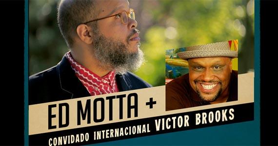 Soul Connection, a união dos grandes mestres do soul, Ed Motta e Victor Brooks, em apresentação única no Teatro Santander Eventos BaresSP 570x300 imagem